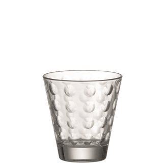 LEONARDO - Trinkglas / Whiskeyglas - Optic - 215ml - 8,5x9cm - Glas
