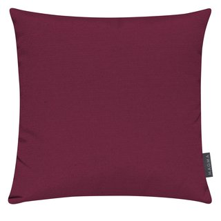 MAGMA Heimtex - Kissenhülle FINO - 40 x 40 cm - rot - Baumwolle/Polyester