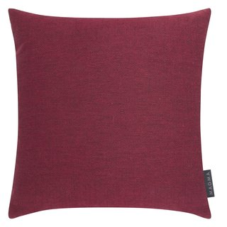 MAGMA Heimtex - Kissenhülle RIVA - 40 x 40 cm - Rot - Baumwolle/Polyester