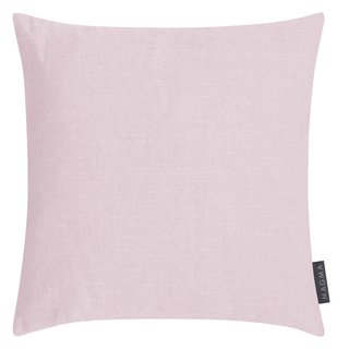 MAGMA Heimtex - Kissenhülle RIVA - 40 x 40 cm - rose -Baumwolle/Polyester