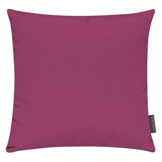 MAGMA Heimtex - Kissenhülle FINO - 40 x 40 cm - pink - Baumwolle/Polyester