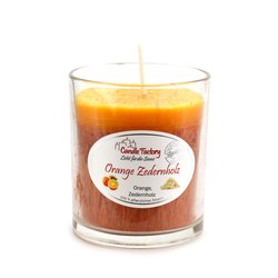 Candle Factory - Party Light - Orange Zedernholz