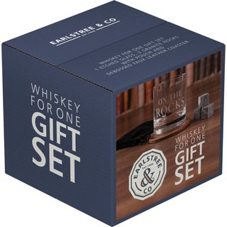 Kitchen Craft - Whiskey-Set - On the Rocks - Earlstree N Co Whisky For One