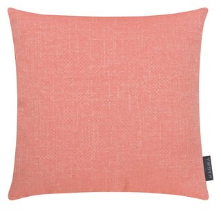MAGMA Heimtex - Kissenhülle RIVA - 40 x 40 cm - coralle - Baumwolle - Polyester